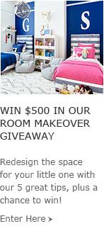 Room Makeover Giveaway