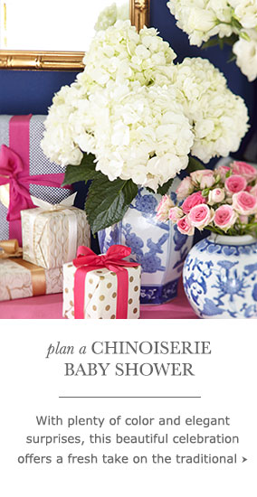 Chinoiserie Baby Shower