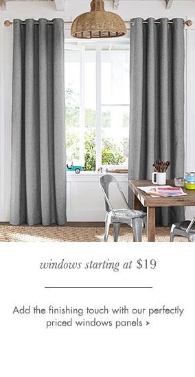 Windows Starting at $19