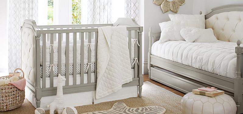 Linen Nursery: White