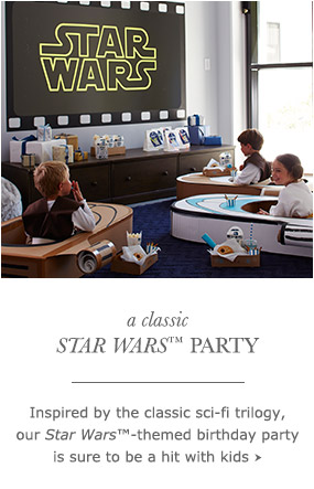 a Classic Star Wars Party