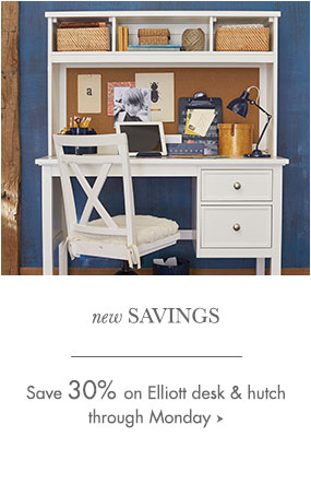 Elliott Desk Hutch Sale