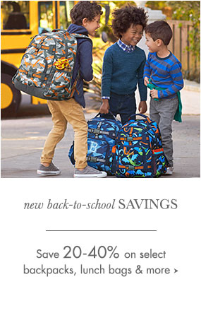 new Back to School Savings