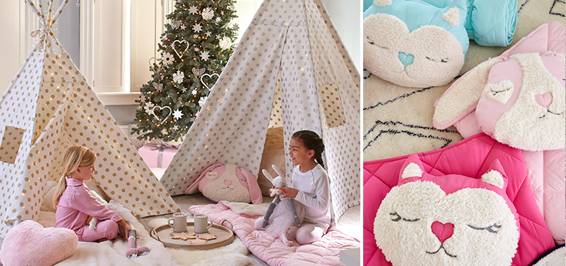 Girl Teepee Playroom