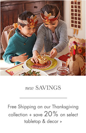 Thanksgiving Promo