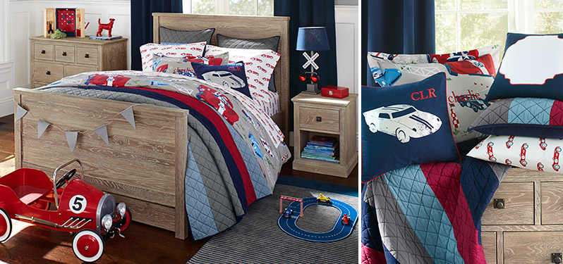 Vintage Racecar Bedroom