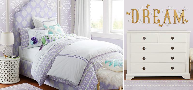 Playful Decorator Bedroom