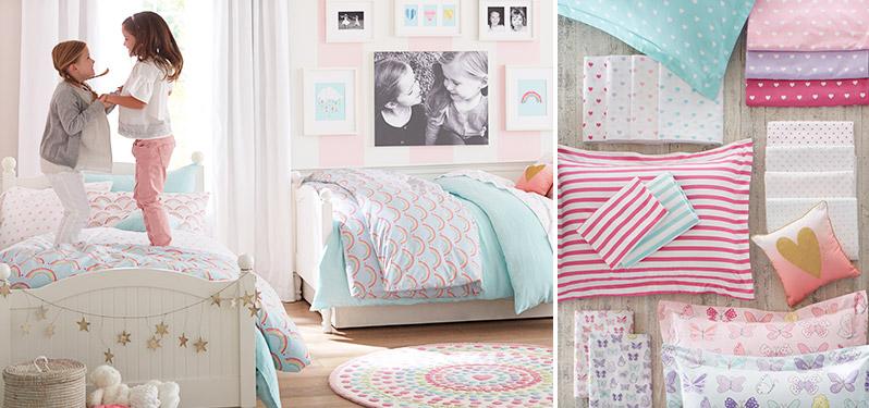 Rainbow Heart Bedroom