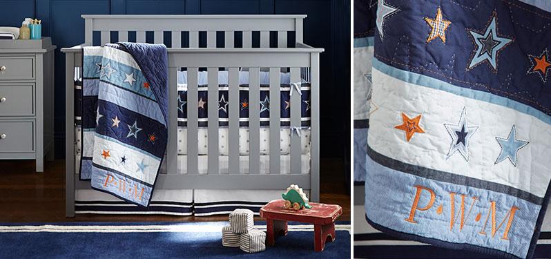 Star Toddler Bedroom