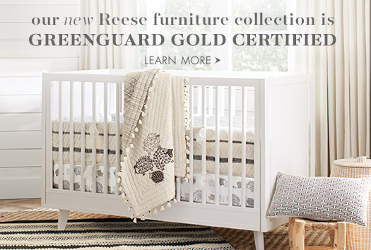 Our new Reese furniture collection is Greenguard Gold certified.