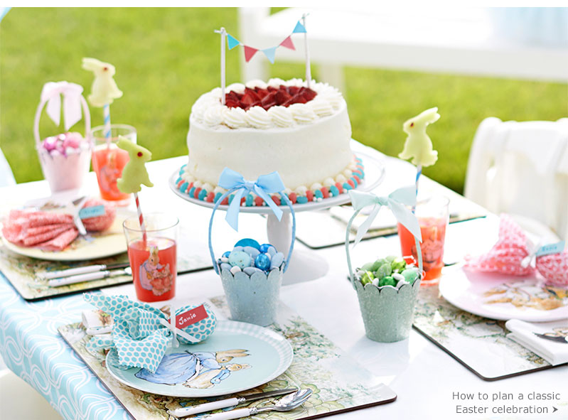 How to plan a Whimsical Easter celebration
