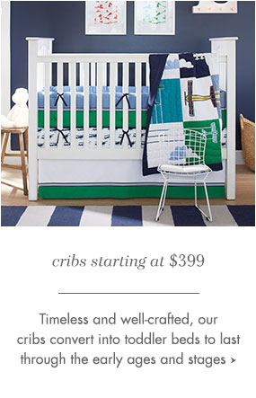 Well-crafted Cribs