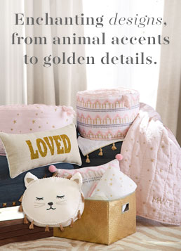 Enchanting Designs, from animal accents to golden details.