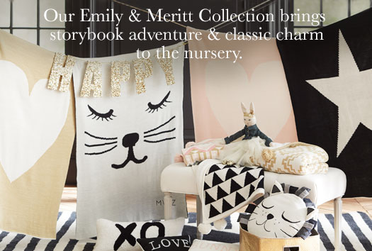 Our Emily & Meritt Collection brings storybook adventure & classic charm to the nursery.