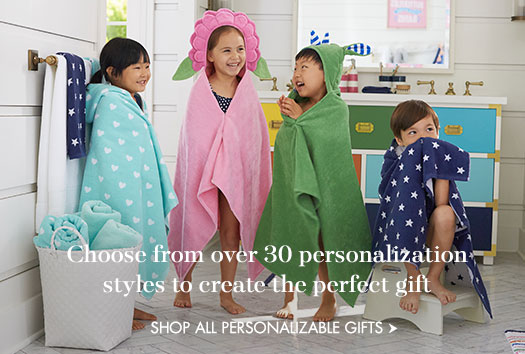 Choose from over 30 personalization styles to create the perfect gift.