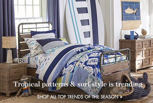 Tropical patterns & surf style is trending!