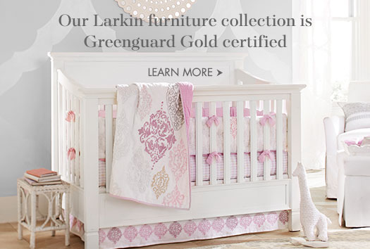 Our Larkin furniture collection is Greenguard Gold certified.