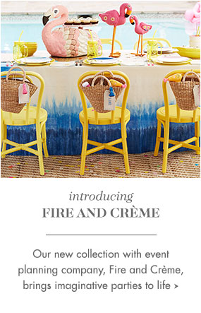 Fire and Crème Collection
