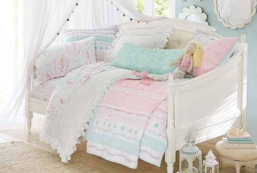 Bailey Mermaid Bedroom Pottery Barn Kids