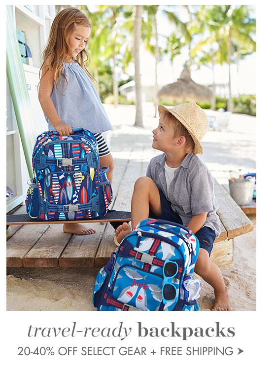 travel-ready backpacks