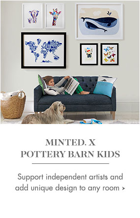 minted x pottery barn kids