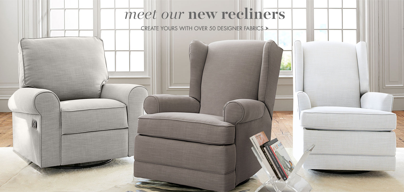 Meet our new recliners