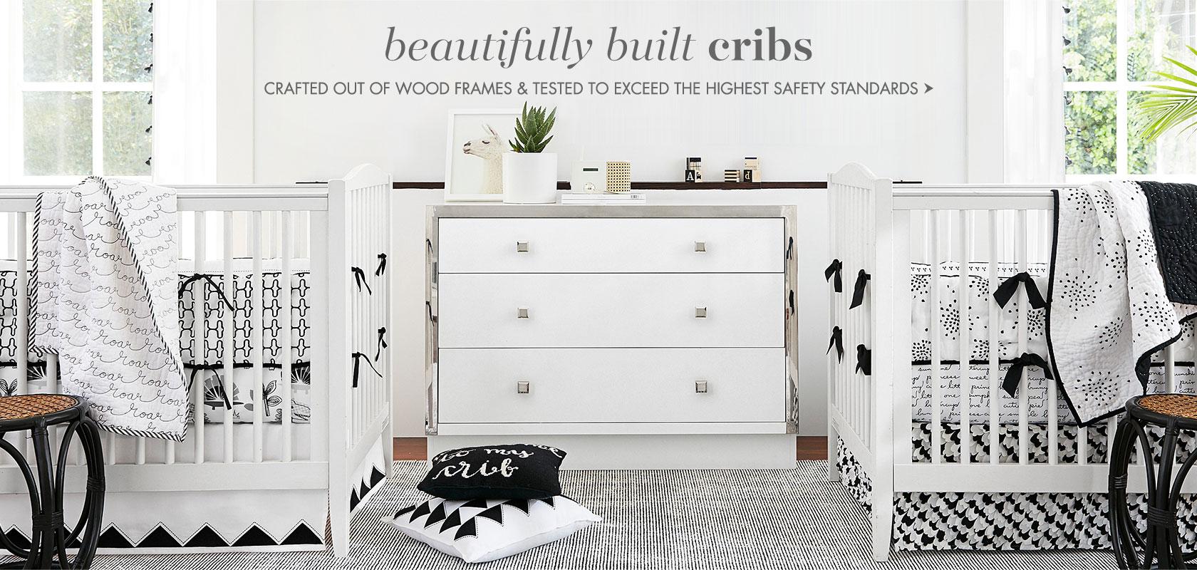Beautifully build cribs