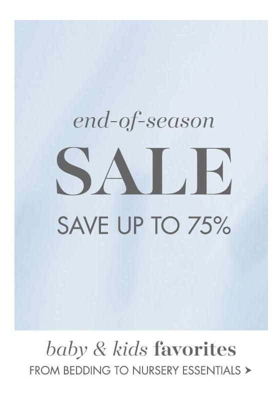 End of Season Sale!