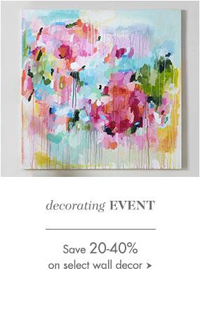 Decorating Event Sale