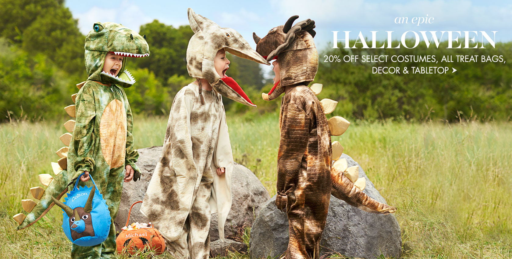 An epic Halloween