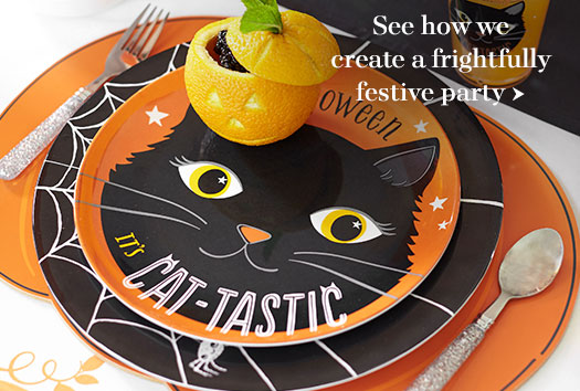 How to create a frightfully festive party