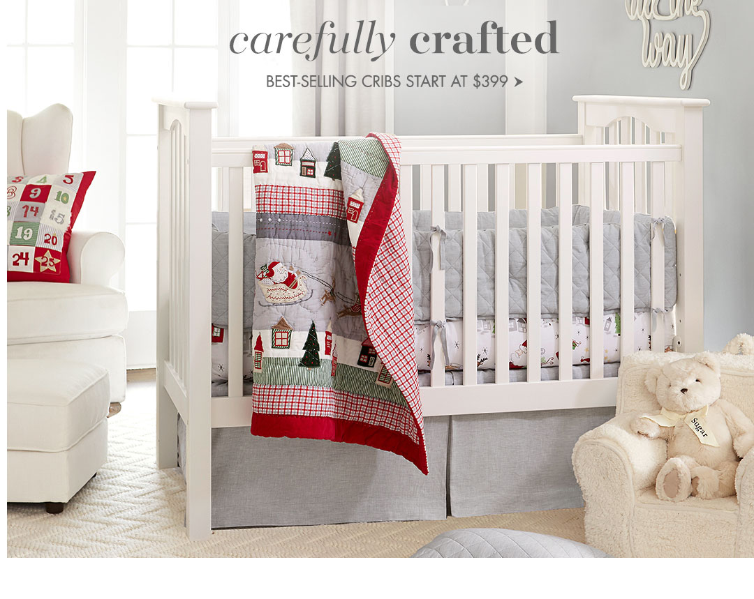 Carefully crafted cribs