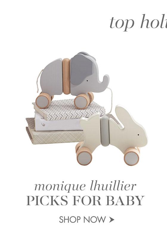 Monique Lhuillier picks for Baby