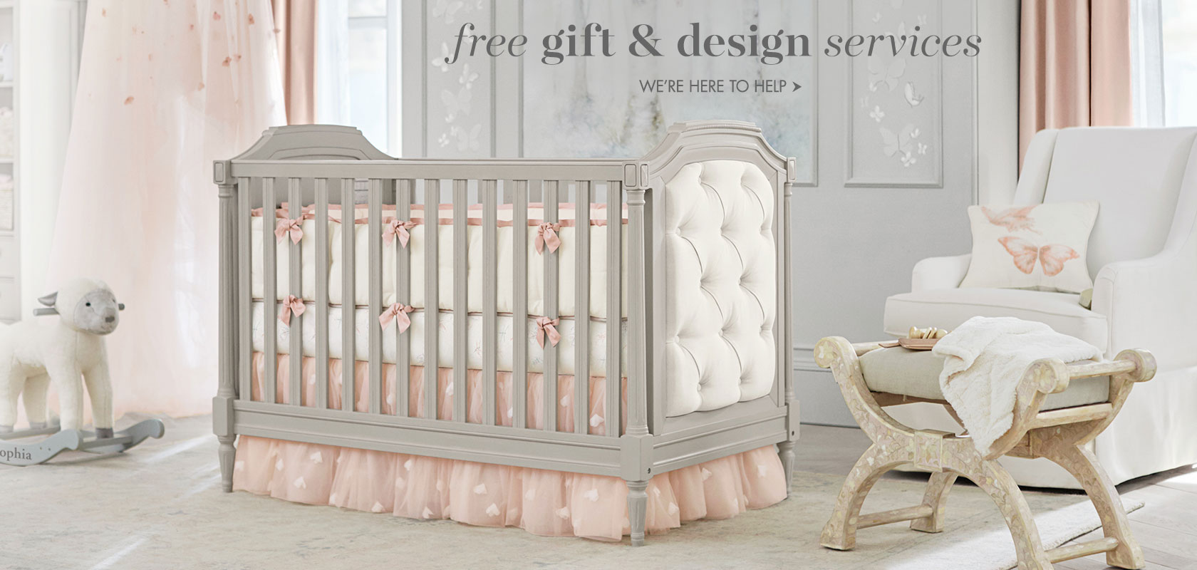 Free gift & design services