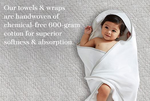 Baby Bath Wraps