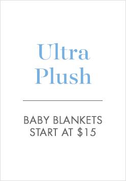 Ultra Plush Baby Blankets