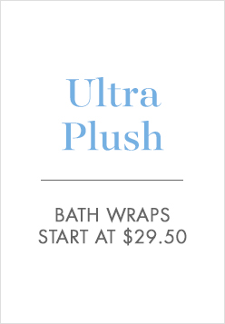 Ultra Plush Bath Wraps