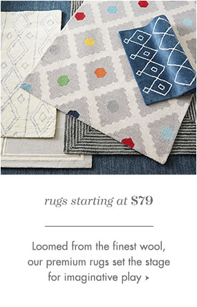Rugs starting at $79