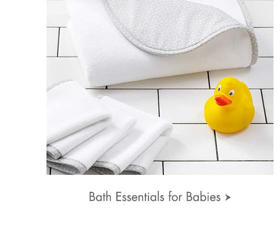 Bath Essentials for Babies