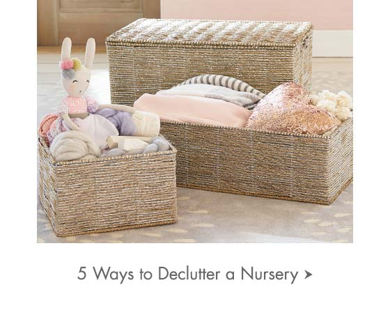 5 Ways to Declutter a Nursery