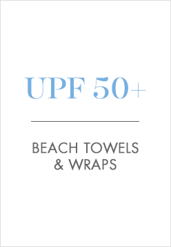 UPF 50+ Beach Towels & Wraps