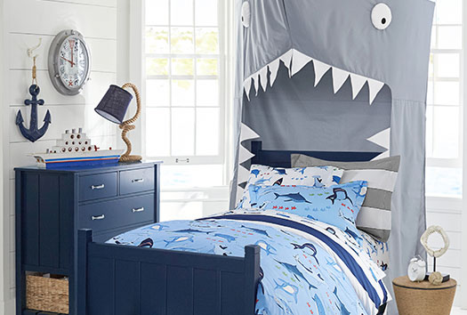 Shark Bite Bedroom Pottery Barn Kids