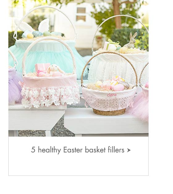 5 Healthy Easter Basket Fillers
