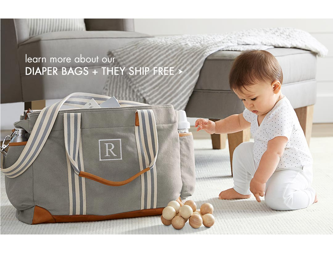 Diaper Bags + They Ship Free