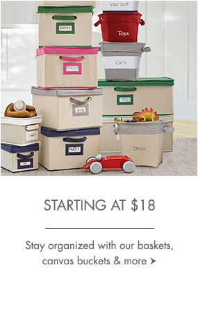 Storage starting at $18