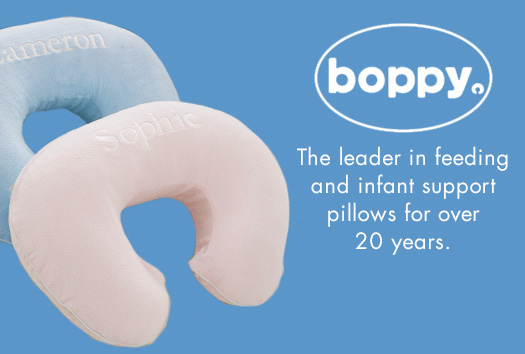 Boppy - The leader in feeding and infant support pillows for over 20 years