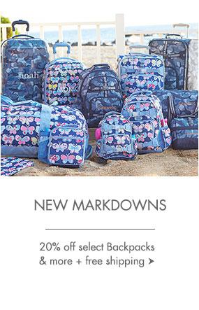 Backpacks Markdowns