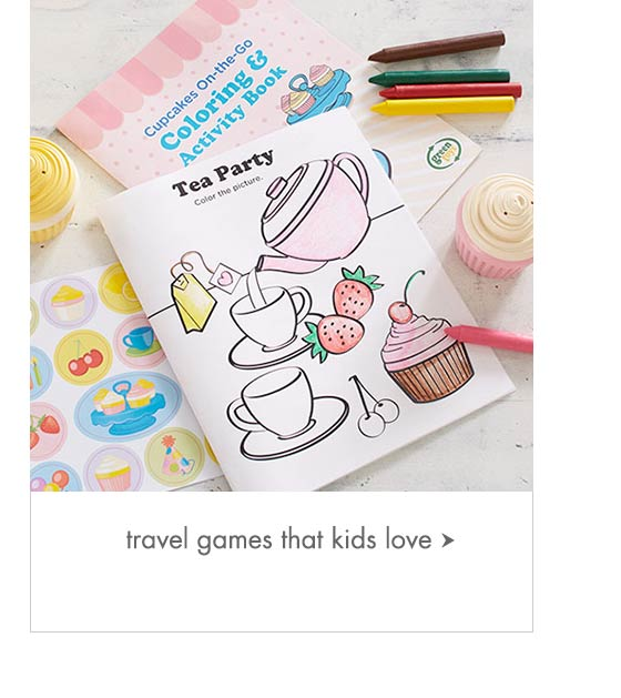 Travel Games That Kids Love