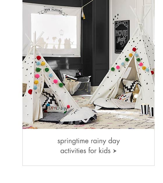 Springtime Rainy Day Activities for Kids