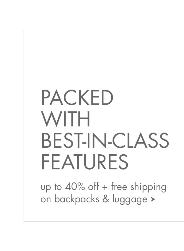 Backpacks & Luggage Sale